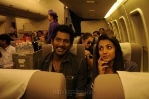 Vishal, Trisha in Samar Movie Stills