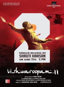 Kamal Haasan Vishwaroopam 2 Trailer Launch by Shruti Haasan Posters
