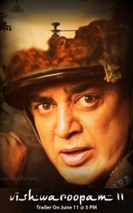 Kamal Haasan Vishwaroopam 2 Trailer Launch Posters