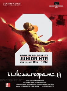 Kamal Hassan Vishwaroopam 2 Trailer Release by Jr NTR Posters