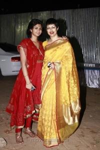 Gouthami with daughter Subbulakshmi at Vishwaroopam Audio Launch Photos