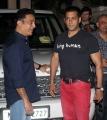 Kamal Hassan, Salman Khan at Vishwaroopam Movie Premiere Mumbai Photos