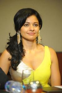 Pooja Kumar at Viswaroopam Press Meet Hyderabad Photos
