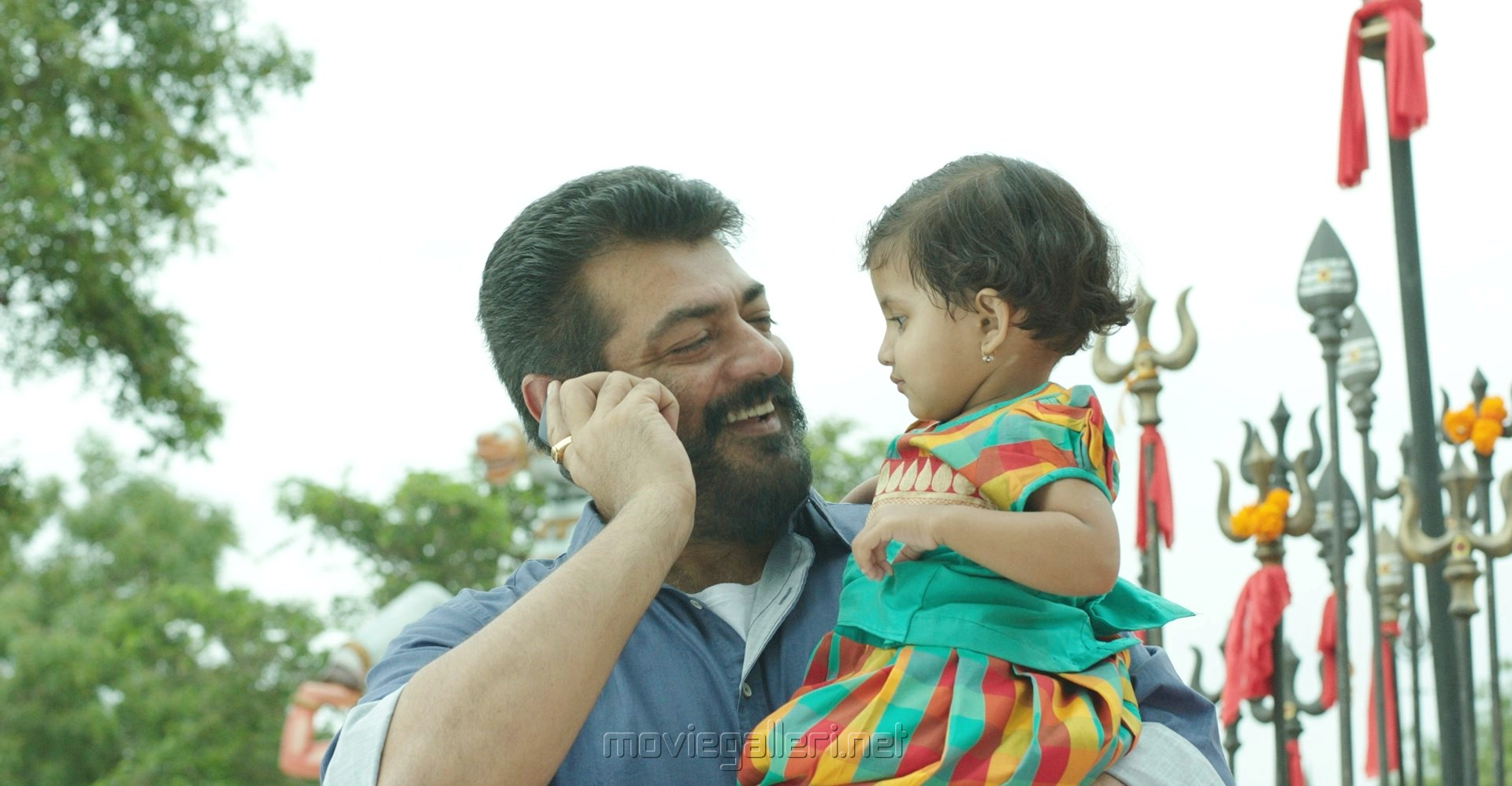 Actor Ajith Viswasam Movie Latest Stills HD