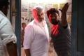 Ajith, Dhilip Subbarayan @ Viswasam Movie Working Stills HQ