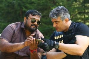 Siva, Ajith @ Vivegam Movie Wroking Stills HD