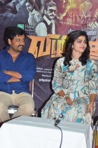 Vidharth, Dhansika @ Vizhithiru Movie Team Meet Photos