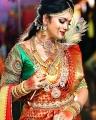 TV Serial Actress Chithra Silk Saree Photoshoot Pics
