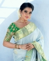 Tamil TV Actress Chithra in Silk Saree Photoshoot Pictures