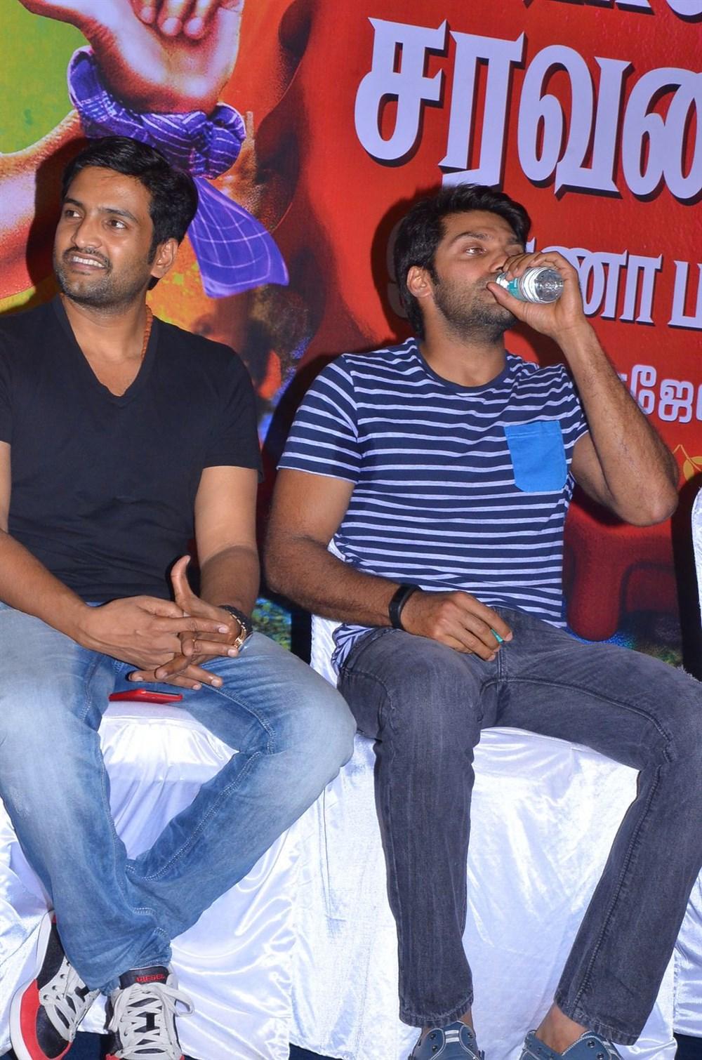 Santhanam, Arya @ VSOP Movie Press Meet Stills