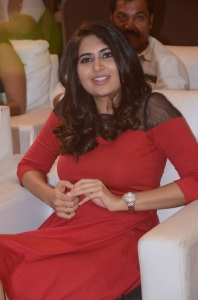 Telugu Actress Vyoma Nandi @ Marala Telupana Priya Audio Launch
