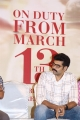 Sibiraj @ Walter Movie Press Meet Photos