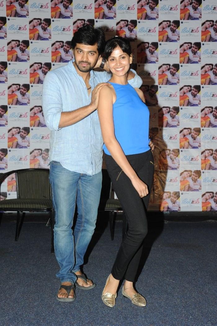 Adith Arun, Supriya Shailaja @ Weekend Love Movie Team Interview Stills