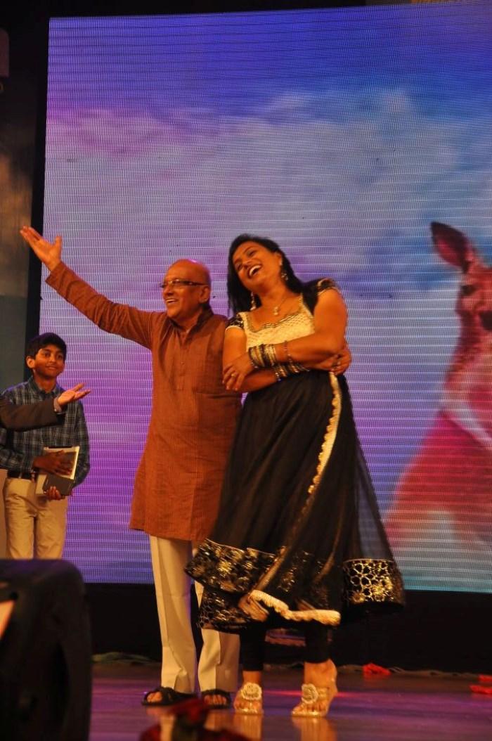 Singeetham Srinivasa Rao, Roja @ Welcome Obama Movie Audio Launch Photos