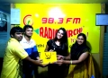 Where is Vidyabalan Team at Vizag Radio Mirchi Photos