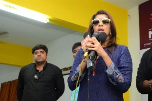 Manchu Lakshmi's Wife Of Ram Team @ Narsimha Reddy Engineering College Photos