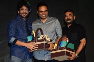 Nagarjuna, Vamsi Paidipally, Raju Sundaram @ Wild Dog Movie Pre-Release Event Stills