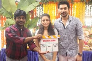 Karunakaran @ Wings Movie Makers Production No 1 Movie Opening Stills