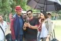Vennela Kishore, Sai Dharam Tej, Rakul Preet Singh @ Winner Movie Working Stills