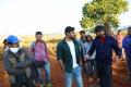 Sai Dharam Tej, Gopichand Malineni @ Winner Movie Working Stills