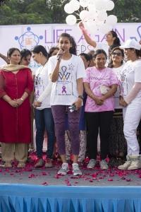 Nitya Naresh @ Life Again Foundation Winners Walk with cancer survivors at Jala Vihar Photos