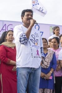 Shivaji Raja @ Life Again Foundation Winners Walk with cancer survivors at Jala Vihar Photos