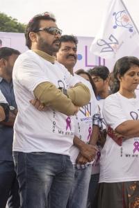 Vijaya Naresh, Shivaji Raja @ Life Again Foundation Winners Walk with cancer survivors at Jala Vihar Photos