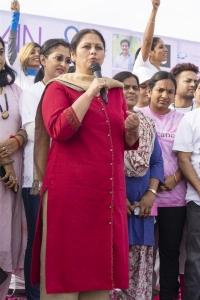 Jayasudha @ Life Again Foundation Winners Walk with cancer survivors at Jala Vihar Photos