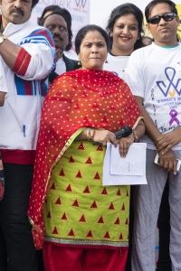 Life Again Foundation Winners Walk with cancer survivors at Jala Vihar Photos