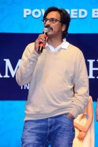 Director Kranthi Madhav @ World Famous Lover Grand Release Event Stills