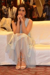 Raashi Khanna @ World Famous Lover Movie Trailer Launch Stills
