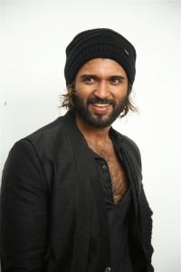 Hero Vijay Devarakonda @ World Famous Lover Interview Pics
