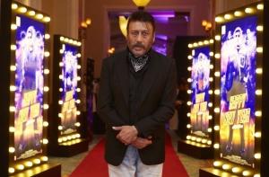 Jackie Shroff @ World Premiere of Happy New Year in Dubai