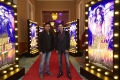 Irshad Kamil, Mayur Puri @ World Premiere of Happy New Year in Dubai