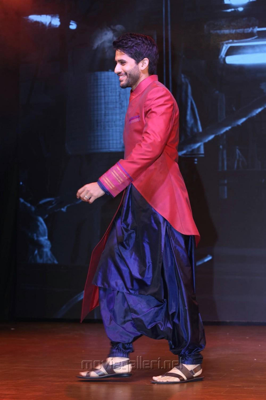 Naga Chaitanya @ Woven 2017 Fashion Show Stills