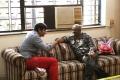 Jeeva, Ravi K.Chandran at Yaan Tamil Movie Working Stills