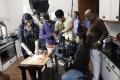 Ravi K.Chandran in Yaan Tamil Movie Working Stills