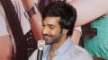 Actor Aadhi @ Yagavarayinum Naa Kaakka Team Meet Trichy Photos
