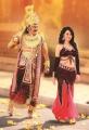Mohan Babu, Nisha Kothari in Yamaleela 2 Movie Stills