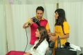 BeYou Family Salon Launch at Narsaraopet by Actress Yamini Bhaskar