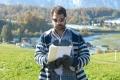 Director E Sattibabu at Yamudiki Mogudu Switzerland Working Stills