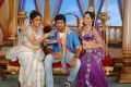 Ramya Krishnan, Allari Naresh, Richa Panai in Yamudiki Mogudu Movie Stills