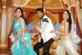 Ramya Krishnan, Allari Naresh, Richa Panai in Yamudiki Mogudu Hot Stills