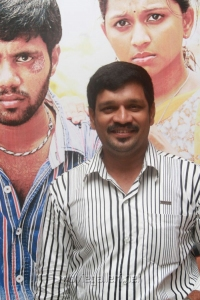 Director EV Ganesh Babu at Yamuna Movie Audio Launch Stills