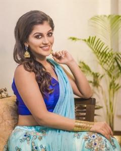 Tamil Actress Yashika Aannand Photoshoot Images
