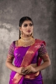 Actress Yashika Anand Saree New Photos HD