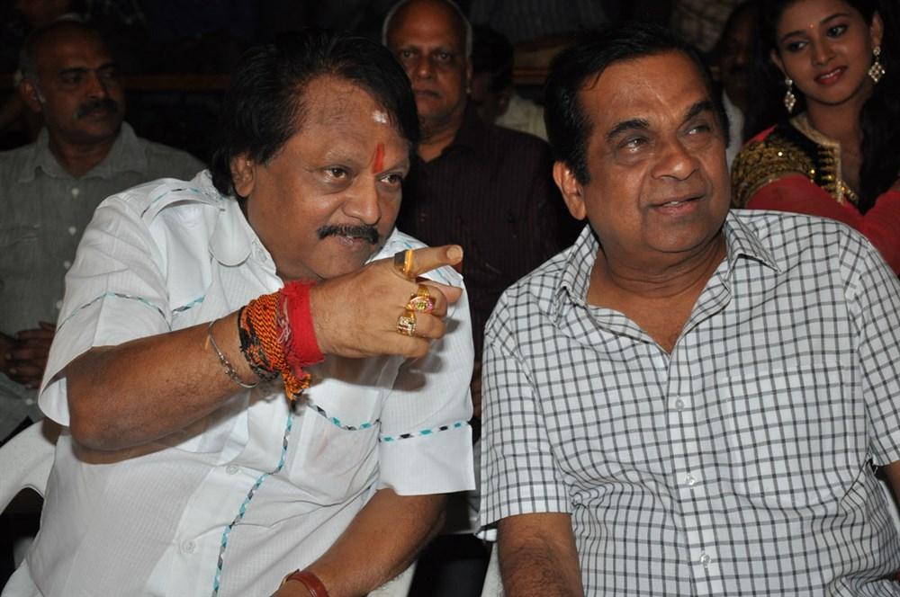 Kodi Ramakrishna, Brahmanandam @ Yeluka Majaka Movie Logo Launch Stills