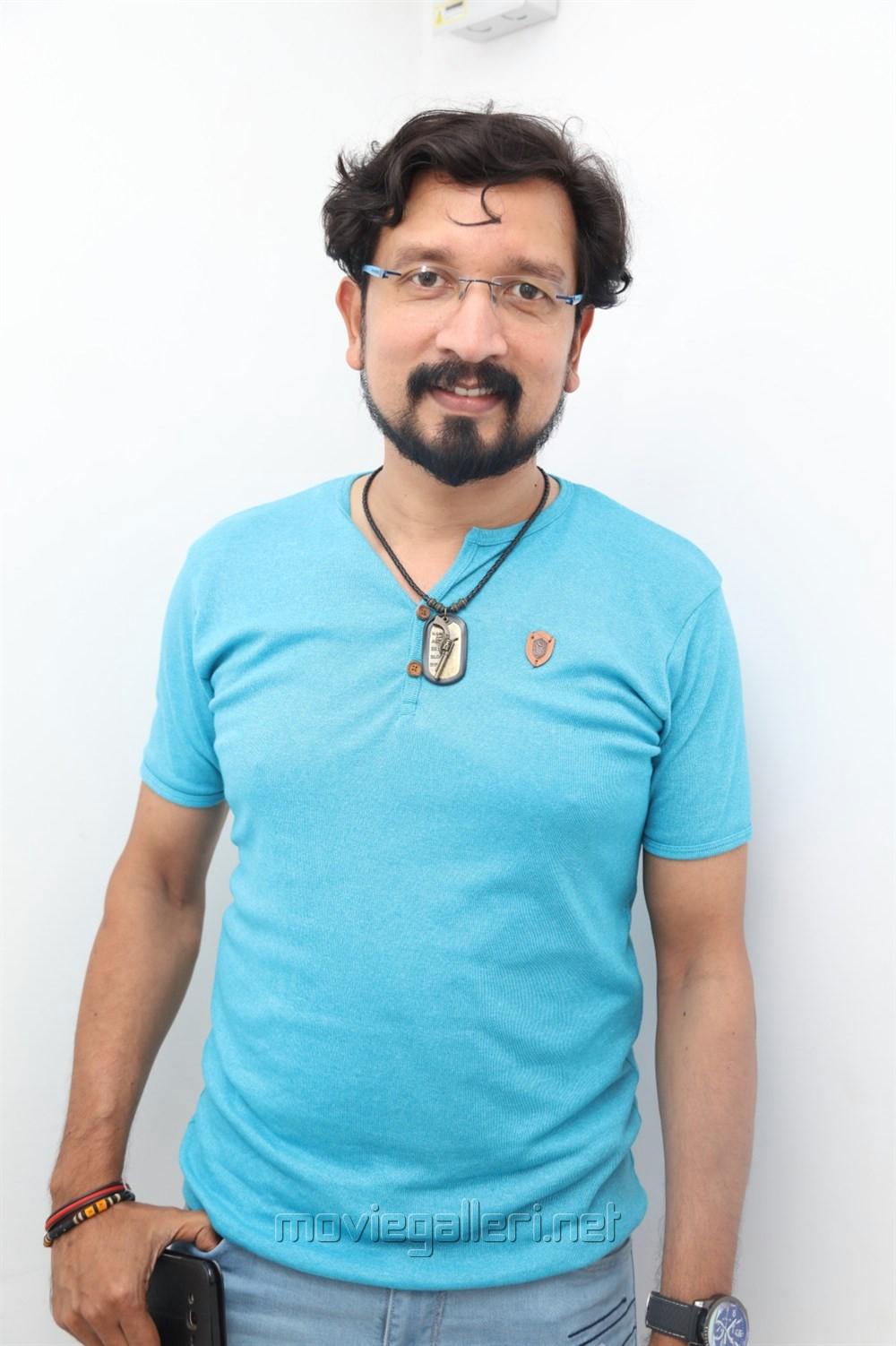 Music Director Sam D Raj @ Yemaali Movie Pooja Stills