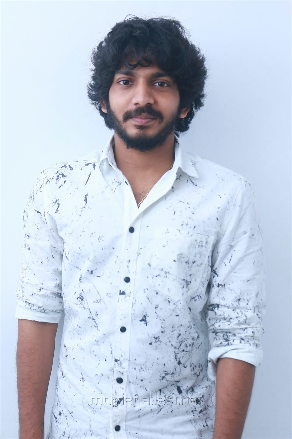 Actor Sam Jones @ Yemaali Movie Pooja Stills