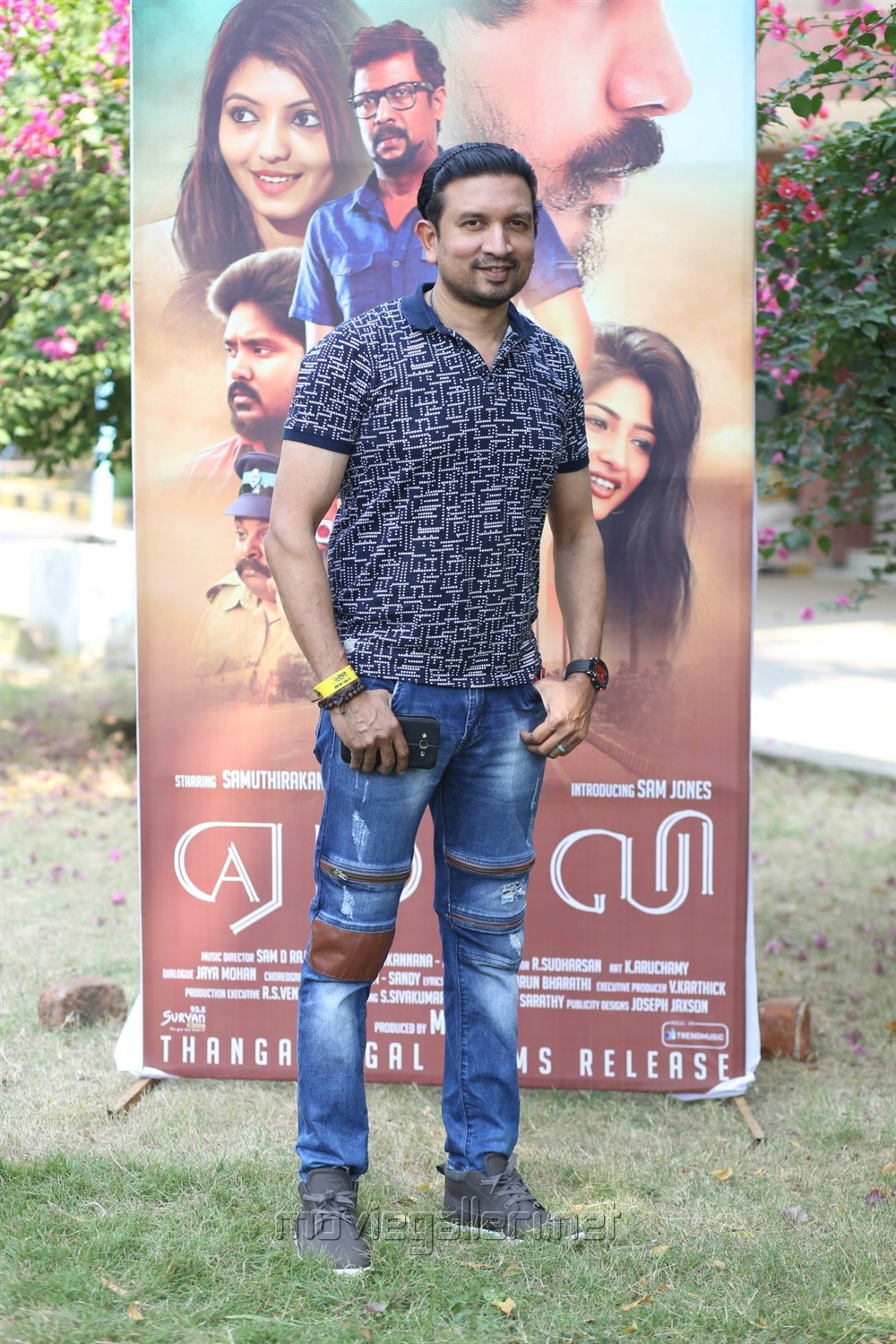 Music Director Sam D Raj @ Yemaali Movie Press Meet Stills